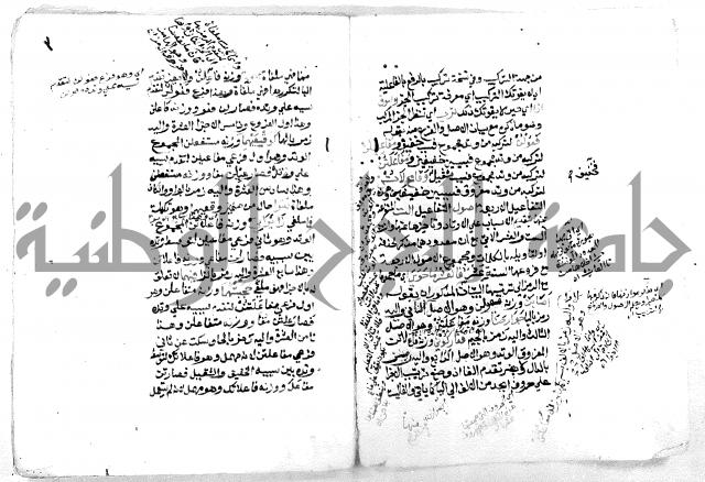 مجهول من مخطوطات ال تفاحة نابلس
